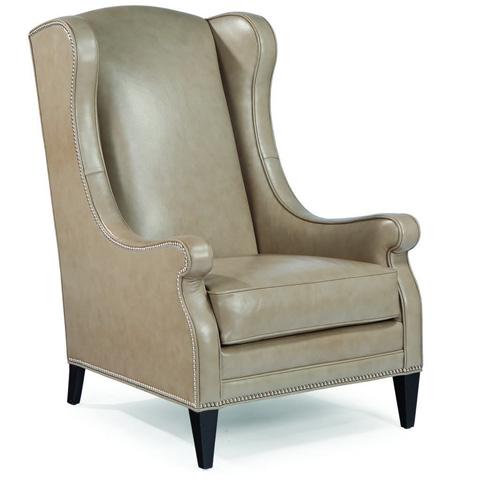 Swaim Kaleidoscope - Narly Wing Leather Chair - KF5142 C29