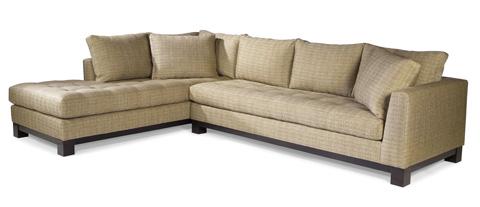 Swaim Kaleidoscope - Charade Sectional Sofa - KF91110 LS70