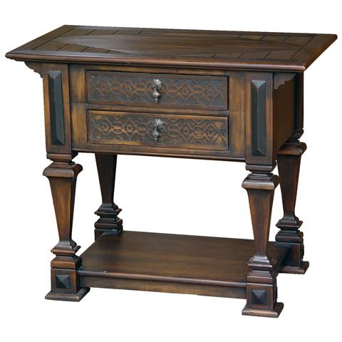 Taracea USA - Loreto Lamp Table - 15 LOR 089