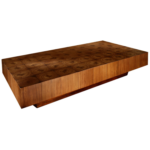 Taracea USA - Coffee Table Corazones Rectangular - 91 COR 031