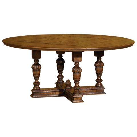 Taracea USA - Edwardian Round Dining Table - 12 EDW 180