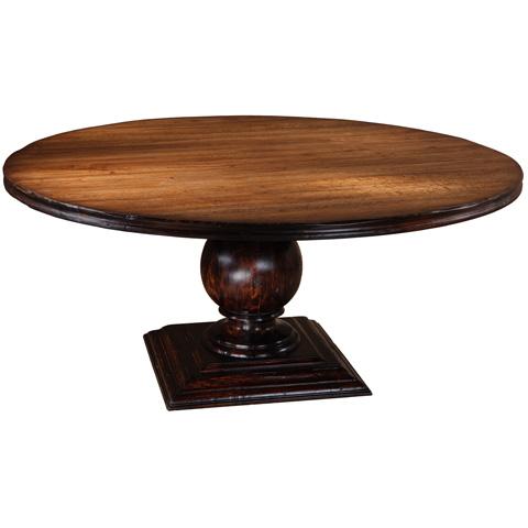 Taracea USA - Pied Round Dining Table - 12 PIE 140