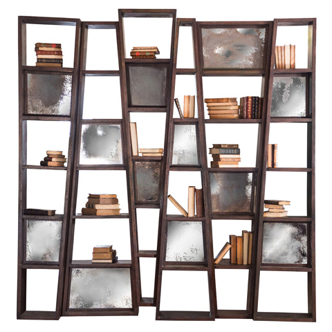 Taracea USA - Small Bookcase Tictac - 72 TIC 050