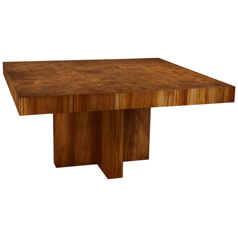 Taracea USA - Kokite Square Dining Table - 89 KOE 080