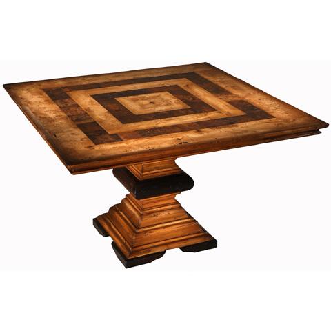 Taracea USA - Porto Novo Squared Table - 12 POR 124