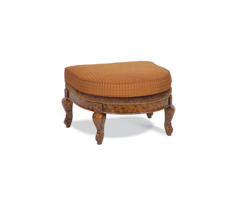 Taylor King Fine Furniture - Penelope Ottoman - 102-00