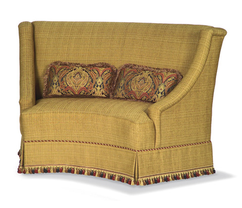 Taylor King Fine Furniture - Chaucer Curved Banquette - 863-02