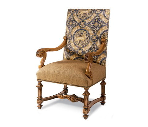Taylor King Fine Furniture - Rococo Arm Chair - 982A