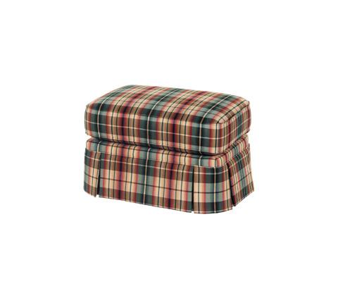 Taylor King Fine Furniture - Stewart Ottoman - K518