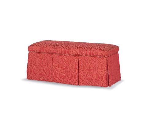 Taylor King Fine Furniture - Eleanor Storage Ottoman - MV14SO