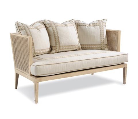 Taylor King Fine Furniture - Ambergris Settee - 7513-02