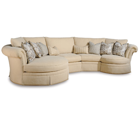 Taylor King Fine Furniture - Baudelaire Sectional - 19-41/19-10/19-10/19-12