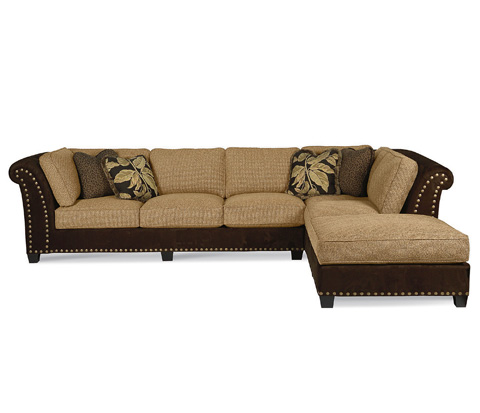 Taylor King Fine Furniture - Cortez Sectional - 53-31/53-74