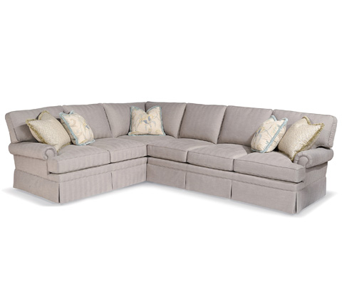 Taylor King Fine Furniture - Quincy Sectional - 8312-33SK/8312-32SK