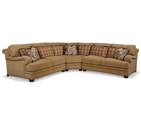 Taylor King Fine Furniture - Ambridge Sectional - 8912-21/8912-25/8912-22