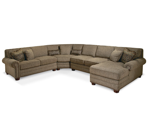 Taylor King Fine Furniture - Lifestyles Sectional - 92-21/92-25/92-20/92-42