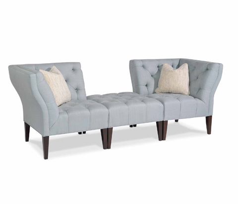 Taylor King Fine Furniture - Adair Sectional - 2315-00/2315-15/2315-15