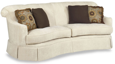 Temple Furniture - Upholstered Two Cushion Sofa - 6100-90