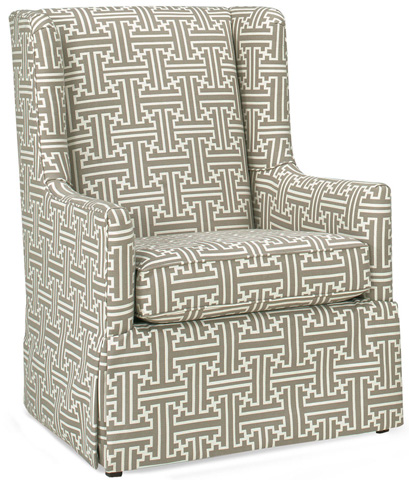 Temple Furniture - Luna Club Chair with Skirt - 1025