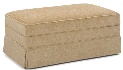 Temple Furniture - Moonlight Storage Ottoman with Casters - 2013
