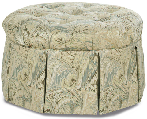 Temple Furniture - Simone Ottoman with Casters - 43