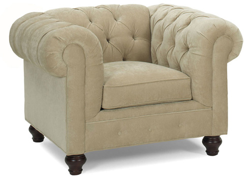 Temple Furniture - Chesterfield Chair - 7505