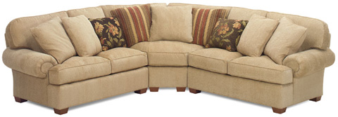 Temple Furniture - Comfy Sectional - 3100 SERIES