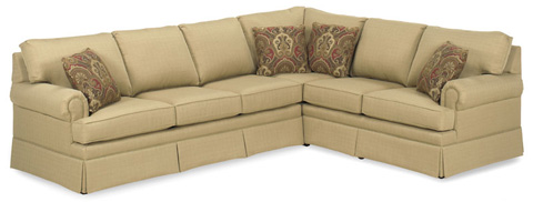 Temple Furniture - Liberty Sectional - 4100 SERIES
