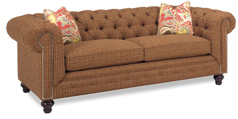 Temple Furniture - Chesterfield Tufted Sofa - 7500-96