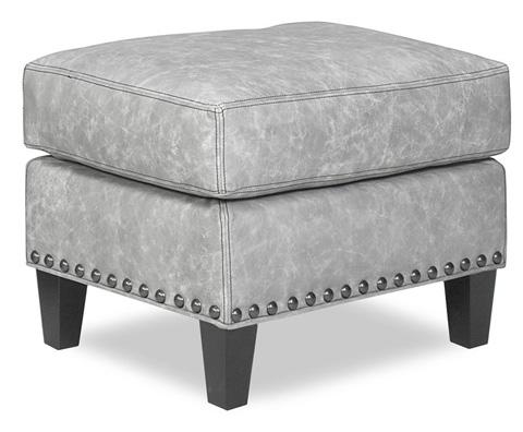 Temple Furniture - Warner Leather Ottoman - 25843
