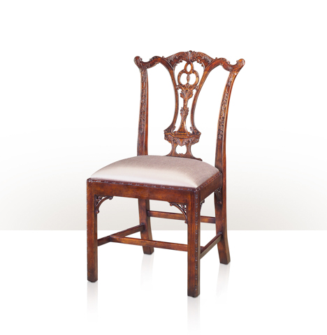 Theodore Alexander - Mrs. Chippendale's Formal Side Chair - 4000-568CW