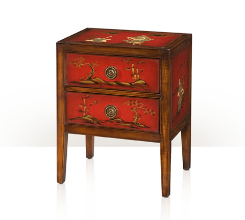 Image of A Vision in Scarlet Accent Bedside Chest