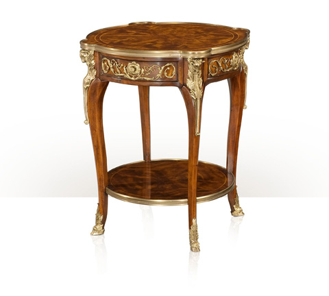 Image of Bernadette Round Lamp Table
