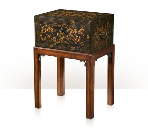 Theodore Alexander - The Floral Painted Box Accent Table - 1102-157