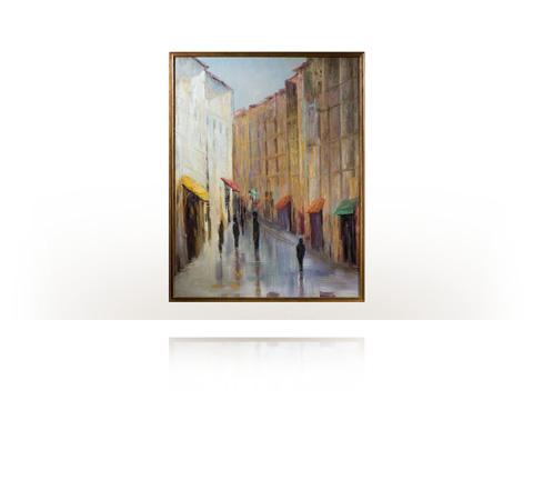 Theodore Alexander - La Rue Wall Art - 3002-055