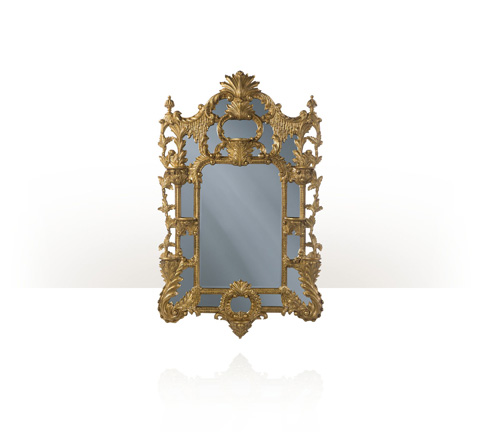 Theodore Alexander - Linnell's Chinoiserie Mirror - 3102-262