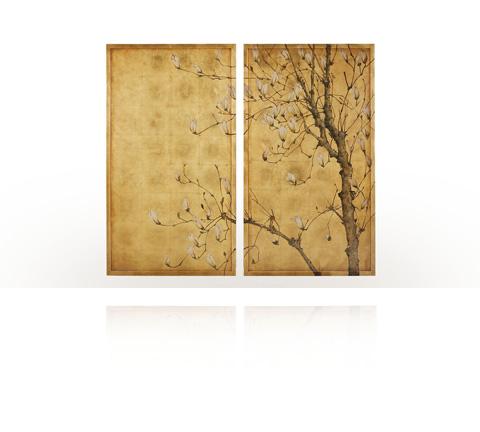 Theodore Alexander - Spring Magnolias Art - 3202-361