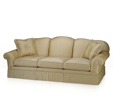 Theodore Alexander - Mellicent Sofa with Skirt - 333-95
