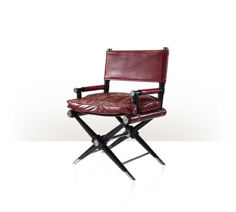 Theodore Alexander - Alligator, The Director's Cut Chair - 4200-214