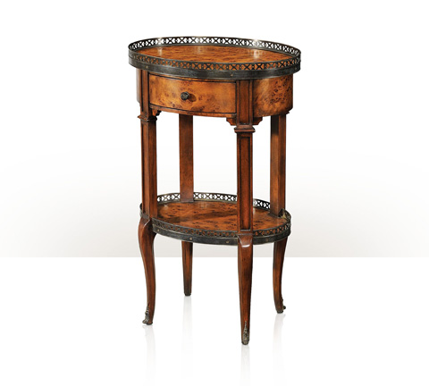 Image of Delicate And Pierced End Table