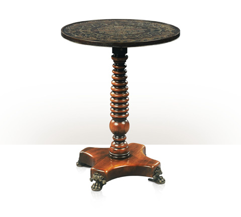Theodore Alexander - The Paw Foot Circular End Table - 5000-196