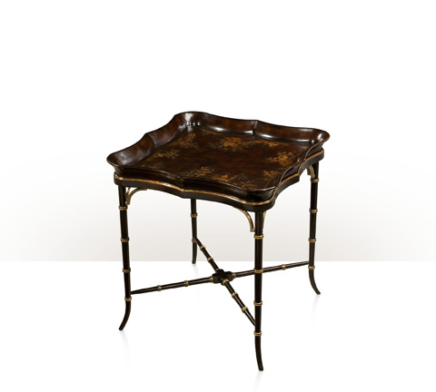 Theodore Alexander - Large Regency Chocolate End Table - 5002-244