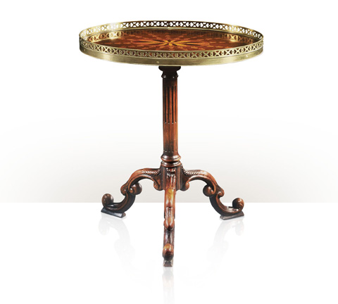 Image of Radiating Parquetry End Table