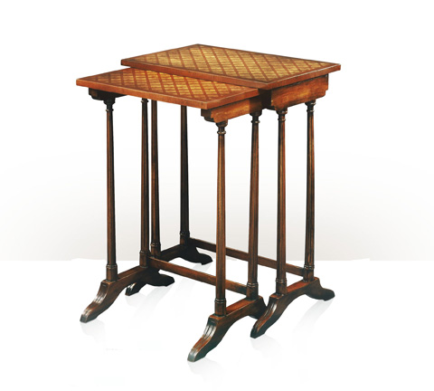 Theodore Alexander - A Parquetry Nesting Table - 5005-048