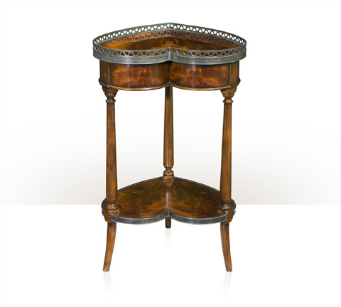 Theodore Alexander - Double Hearts End Table - 5005-221