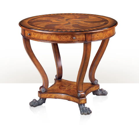 Image of Swirling Teardrops End Table