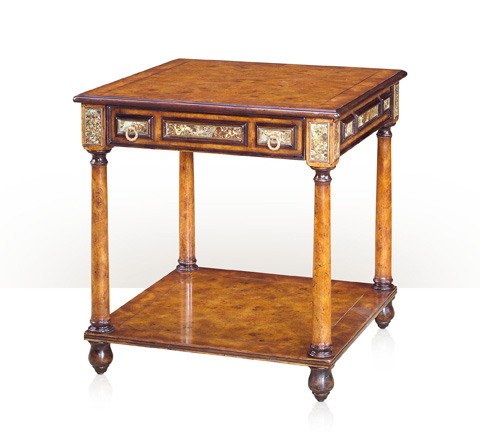 Theodore Alexander - Turquoise Encounter End Table - 5005-530
