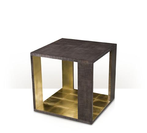Theodore Alexander - Metallic Signature End Table - 5005-837