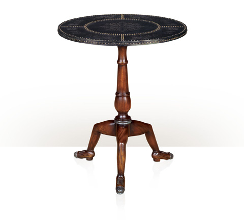 Theodore Alexander - A Studded Manx Table - 5021-013