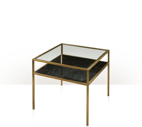 Theodore Alexander - Dark Square Accent Table - 5021-269